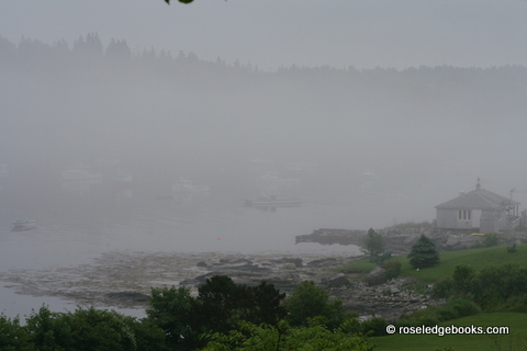 Figure #88.  Can you practically see the early boats in the mist?  The fun comes in deciding whose boats they are and when.