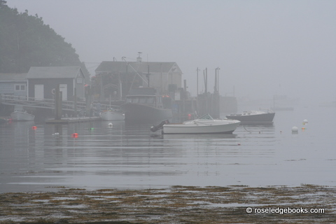 Fig. #56. Fog is beautiful mostly, but too much can dampen lobster catches and even spirits.